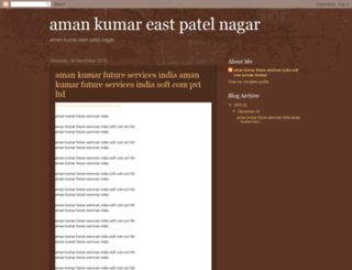 amankumareastpatelnagar.blogspot.in screenshot