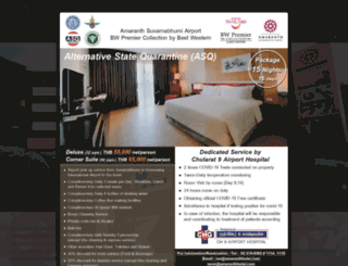 amaranthhotel.com screenshot