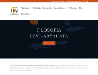 amarevictum.com screenshot