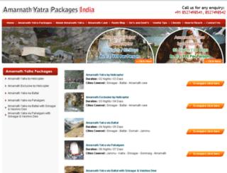 amarnathyatra2014.net.in screenshot