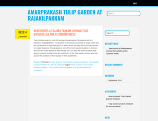amarprakashtulipgarden.wordpress.com screenshot