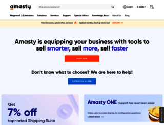 amasty.com screenshot