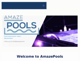amazepools.uk screenshot