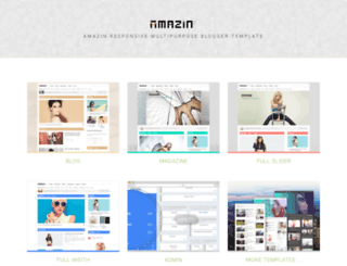 amazin-blogger-template.blogspot.com screenshot