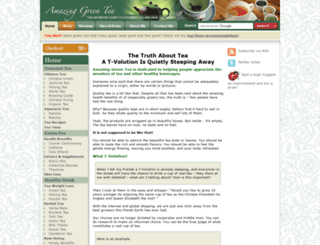 amazing-green-tea.com screenshot