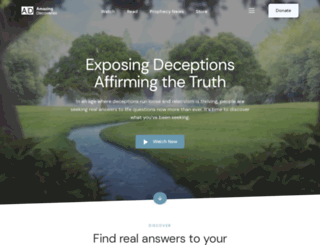 amazingdiscoveries.org screenshot