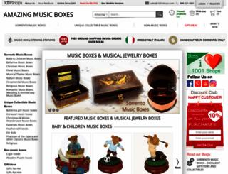 amazingmusicbox.com screenshot