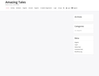 amazingtales.net screenshot