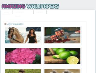 amazingwallpapers.net screenshot