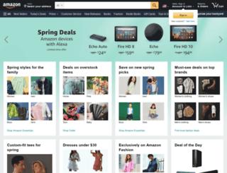 amazon.org screenshot
