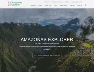 amazonas-explorer.com screenshot