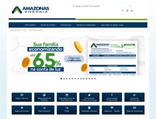 amazonasenergia.gov.br screenshot