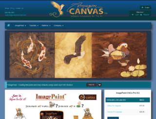 amazoncanvas.com screenshot