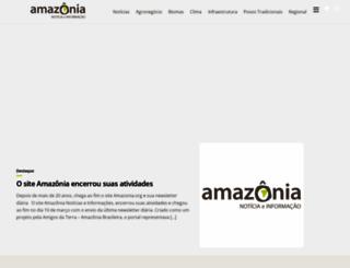 amazonia.org.br screenshot