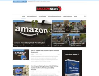 amazonsuspension.com screenshot
