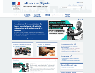ambafrance-ng.org screenshot