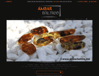 ambarbaltico.net screenshot
