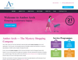 amberarch.com screenshot
