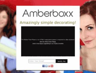 amberboxx.com screenshot