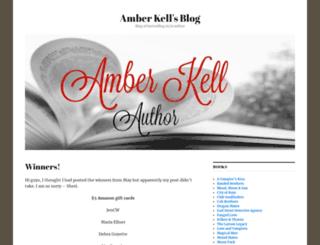 amberkell.wordpress.com screenshot