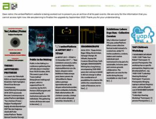 amberplatform.org screenshot