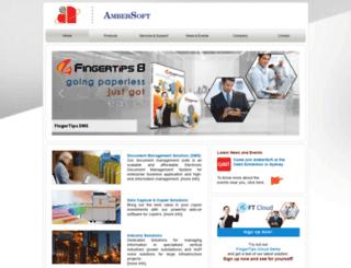 ambersoft.net screenshot