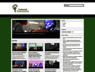 ambientalsustentavel.org screenshot
