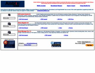 amblinsoftware.com screenshot