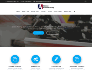 ambromanufacturing.com screenshot