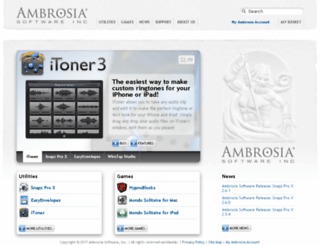 ambrosiasw.com screenshot