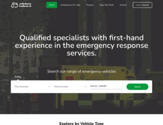 ambulancetrader.co.uk screenshot