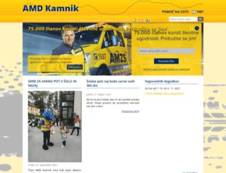 amd-kamnik.si screenshot