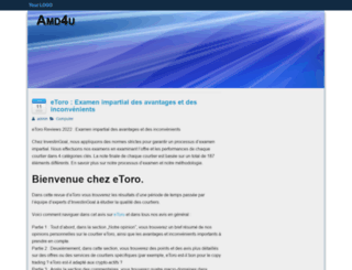 amd4u.eu screenshot