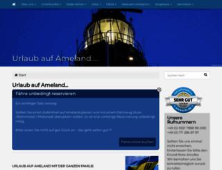 ameland-tips.de screenshot