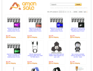 amensale.com screenshot