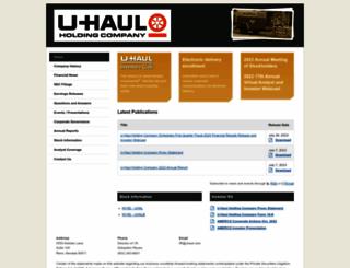 amerco.com screenshot