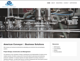 amerconveyor.com screenshot