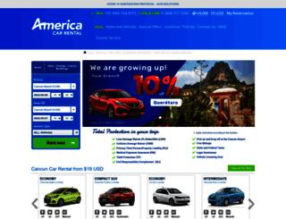america-carrental.com screenshot