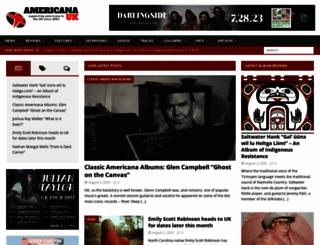 americana-uk.com screenshot