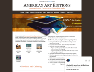 americanarteditions.com screenshot