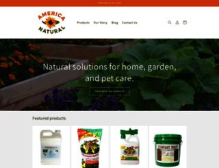 americanatural.com screenshot