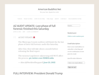 americanbuddhist.net screenshot