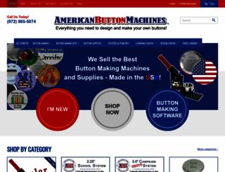 americanbuttonmachines.com screenshot