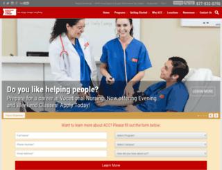 americancareer.com screenshot