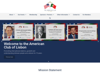 americancluboflisbon.com screenshot