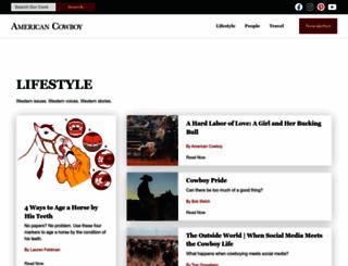 americancowboy.com screenshot