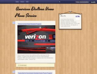 americandialtone.tumblr.com screenshot