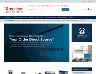 americandoorsupply.com screenshot