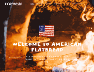 americanflatbread.com screenshot