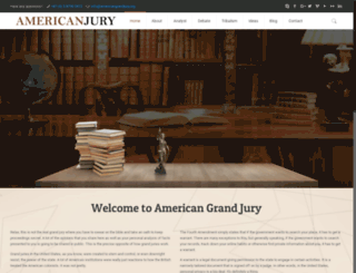 americangrandjury.org screenshot